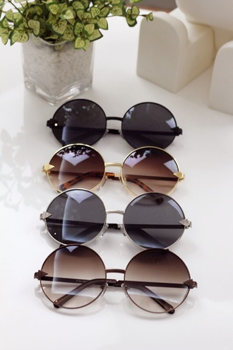 sunglasses sun summer hipster hippie retro love round sunglasses