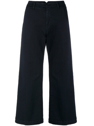 pants cropped pants cropped women spandex cotton blue
