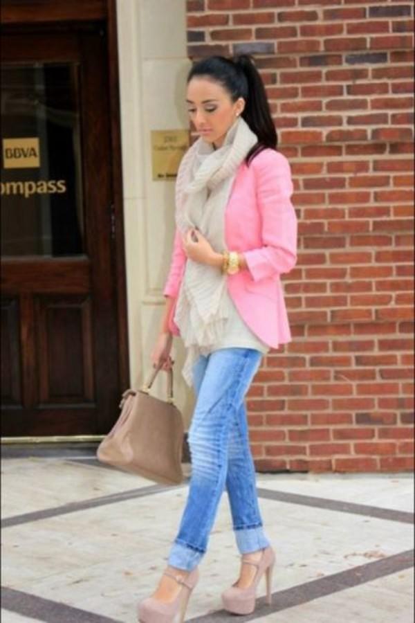 jacket pink blazer pink jacket