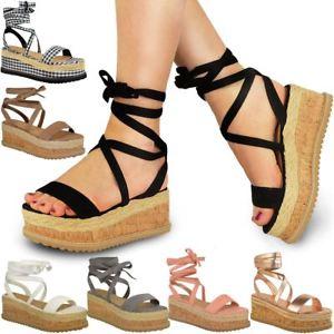 flatform cork sandals