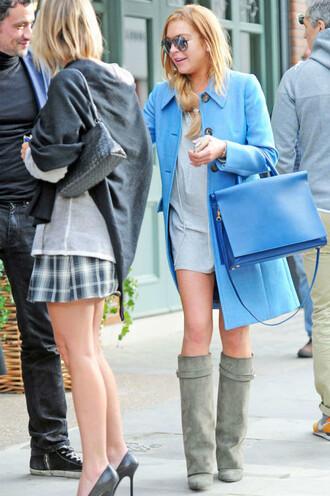 dress coat boots lindsay lohan bag purse shoes