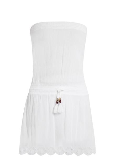 cover up cotton white swimwear