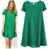 cute dress,dress,cute,girly,clothes,fashion,forest green,shift dress