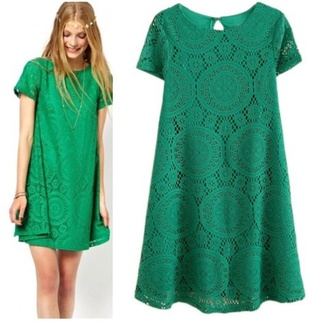 cute dress dress cute girly clothes fashion forest green shift dress