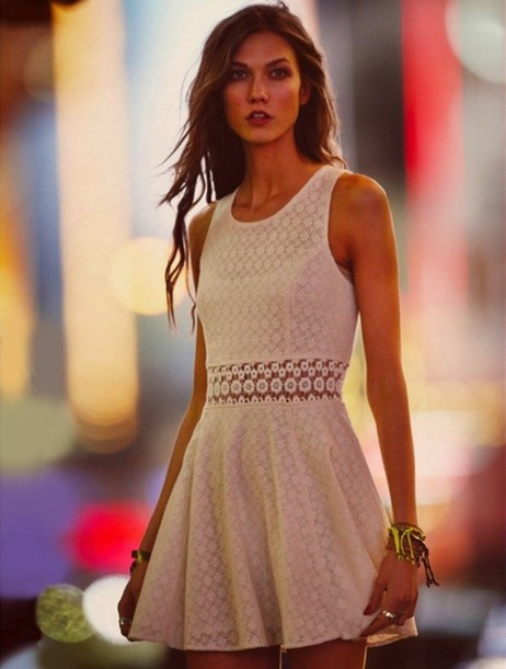 dress clothes homecoming dress white dress cute