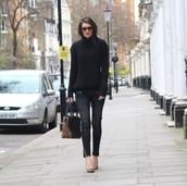 peexo,blogger,zip,leopard print,handbag,skinny jeans