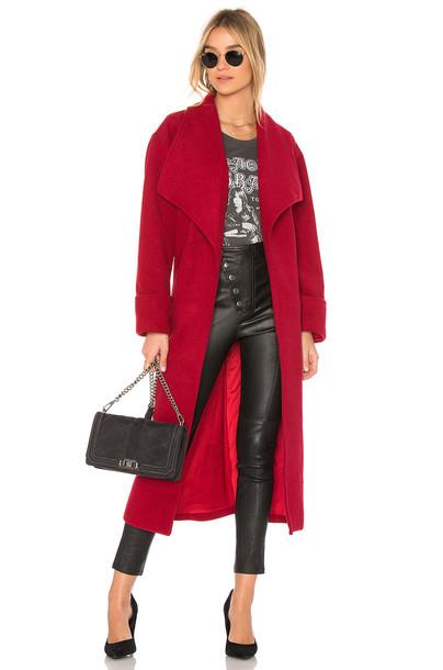 coat red
