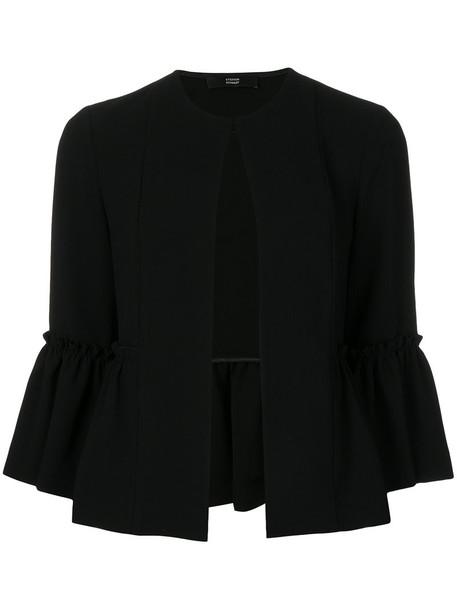Steffen Schraut jacket ruffle women black