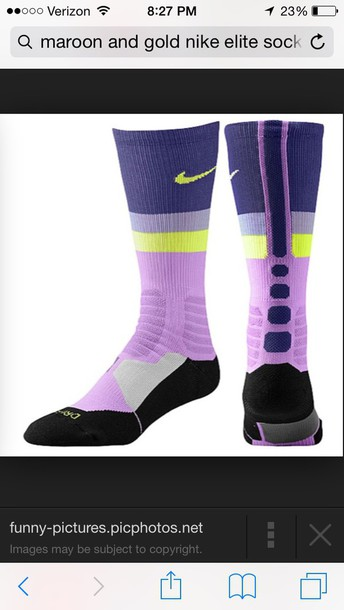 socks nike running shoes