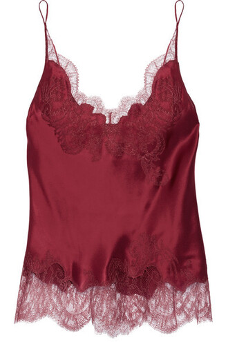 camisole lace silk satin underwear