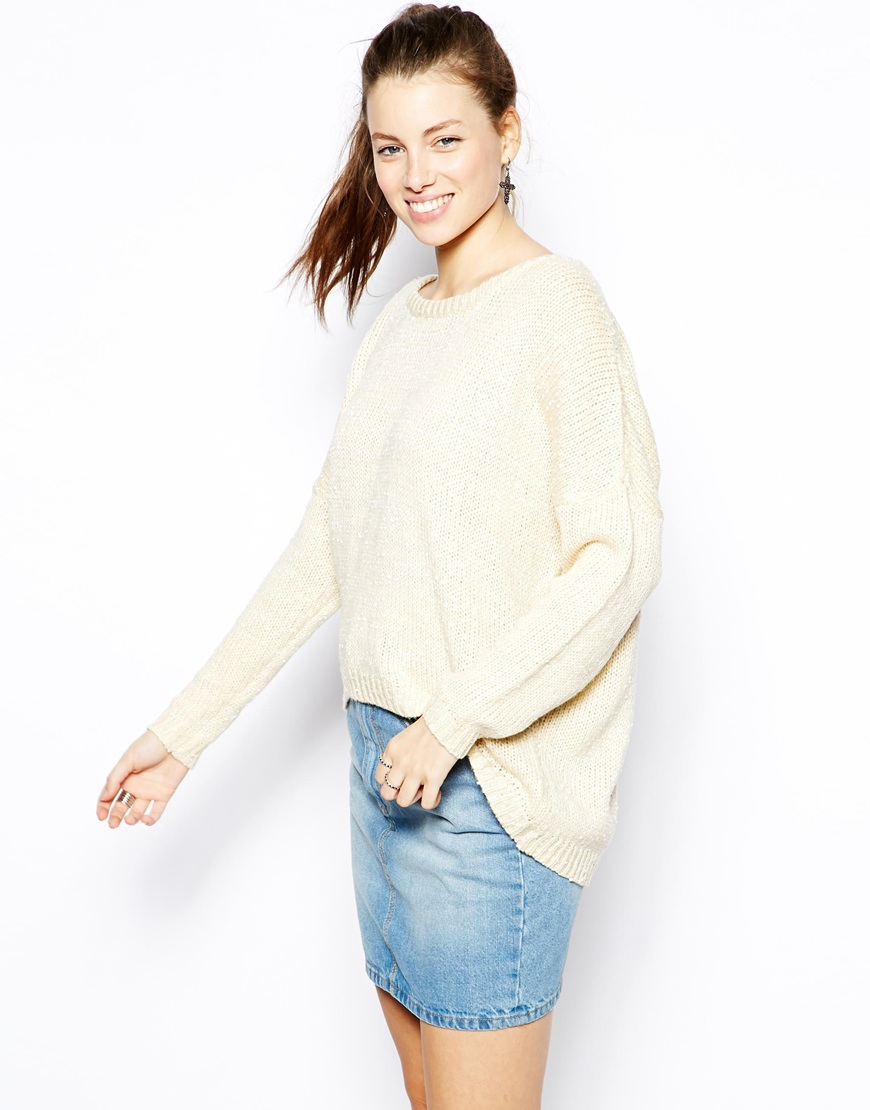 Katsumi Crochet Back Jumper at asos.com