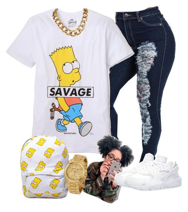 e89b9a2d4 Savage Bart Vintage Cartoon T-Shirt - Mpcteehouse