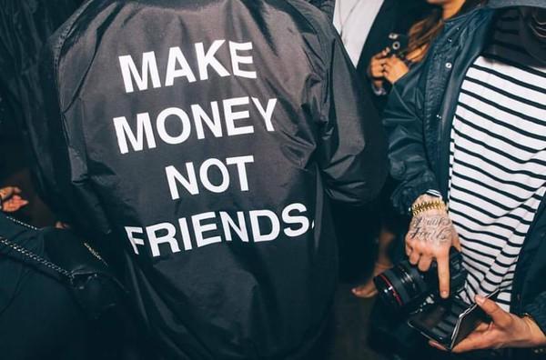 Amazon.com: Make Money Not Friends: Clothing