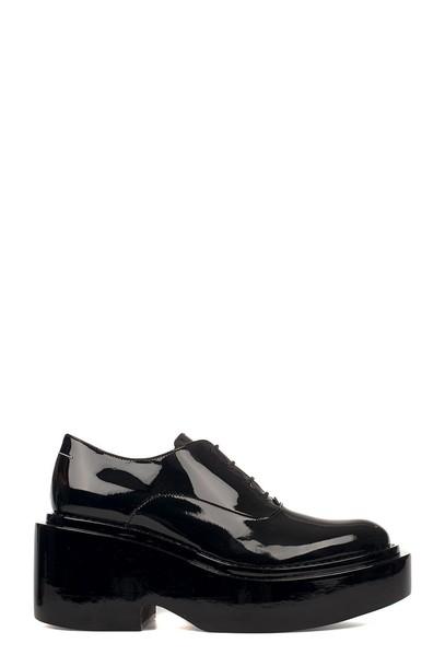 Mm6 Maison Margiela leather black shoes