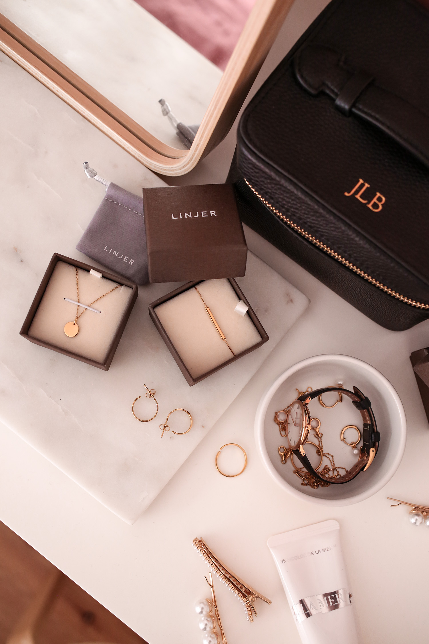 A look at Linjer's new jewelry line | Mademoiselle | A Minimalist Fashion Blog
