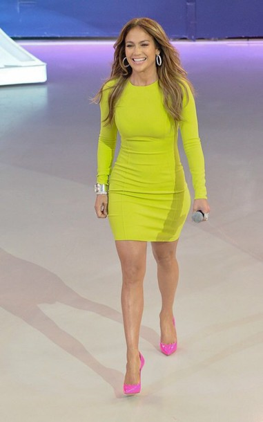 dress dress lime lime dress green dress yellow yellow dress long sleeves long sleeve dress bodycon bodycon dress party dress sexy party dresses sexy sexy dress celebrity celebrity style celebstyle for less celebrity jennifer lopez spring dress spring outfits classy dress cocktail dress cute dress girly dress date outfit birthday dress clubwear club dress homecoming homecoming dress wedding guest wedding clothes engagement party dress dope