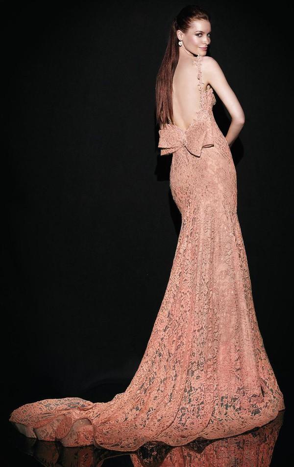 evening dress coral evening dress 2014 backless evening dress prom dress prom gowns formal dress party dress