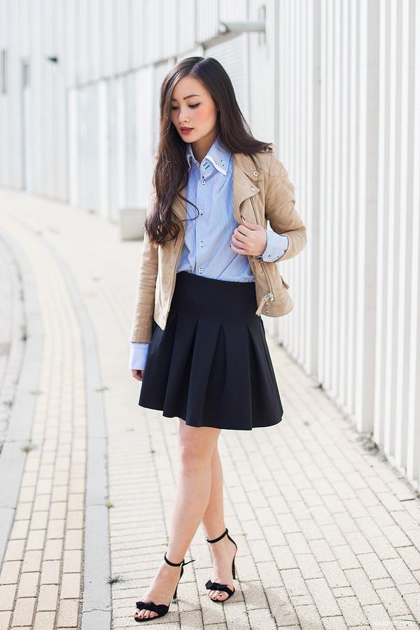 tlnique jacket shoes shirt skirt