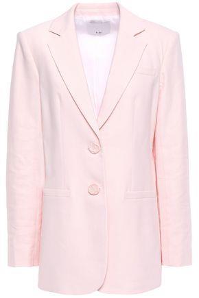 Tibi Woman Twill Blazer Pastel Pink Size 10