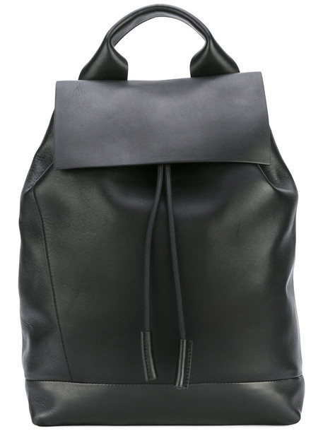 MARNI backpack leather black bag