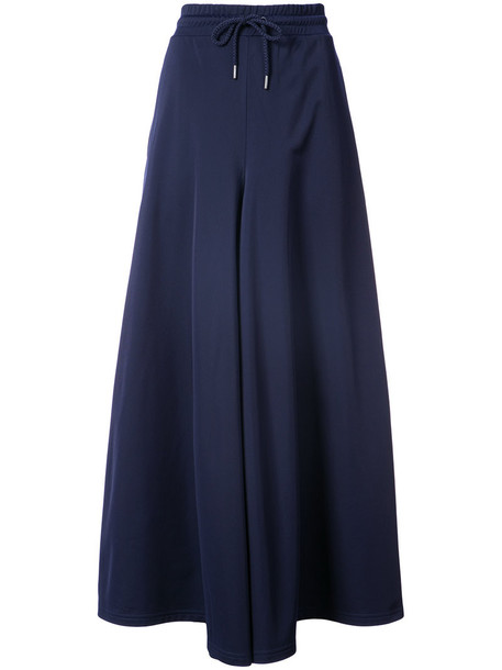 Fenty X Puma - side split track pants - women - polyester - XS, Blue, polyester