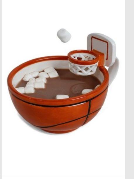 home accessory mug basketball funny