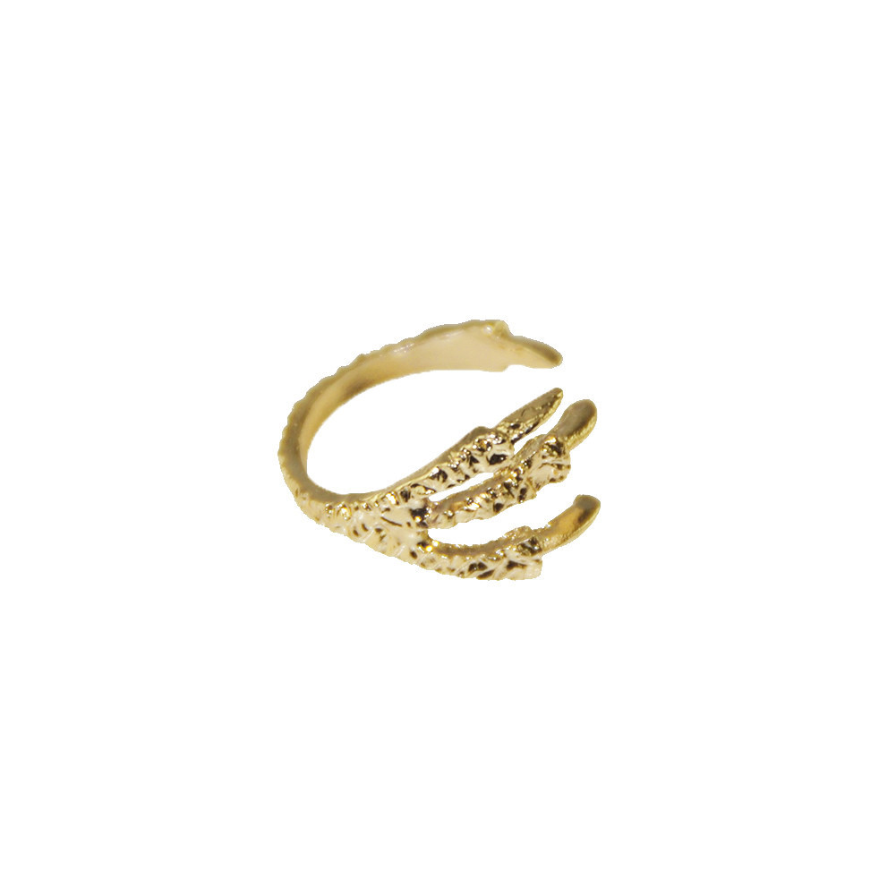 GOLD CLAW MIDI RING / back order – HolyPink