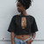 Peephole Cutout Crop Top