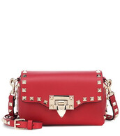 bag,shoulder bag,leather,red