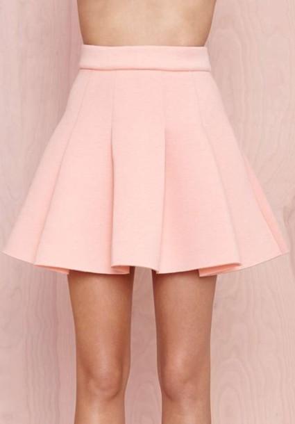 skirt pink skater pink sharer skirt