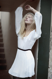 white dress,dress