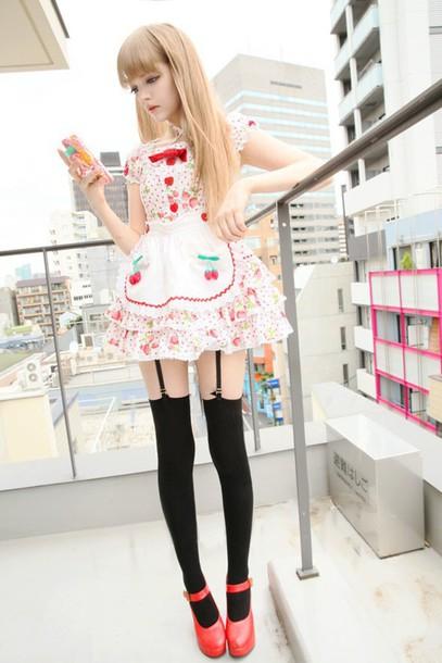 Dress Lolita Kawaii Dress Cute Asian Fashion Japan