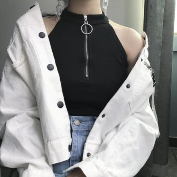 Aesthetic Ulzzang Outfit Black
