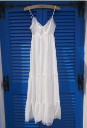 Retro White and Nude Collection - Dress - Retro, Indie and Unique Fashion