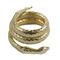 Whiting and davis 'gold' snake bracelet | 1stdibs.com
