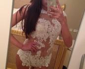 underwear,bodysuit floral white nude