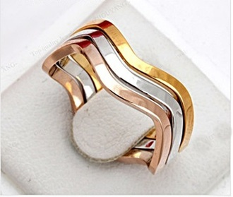 jewels ring rose gold yellow gold 3 ring perfect