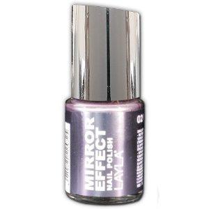 Amazon.com : Layla Mirror Effect Nail Polish (Cosmo Lilac #2) : Beauty