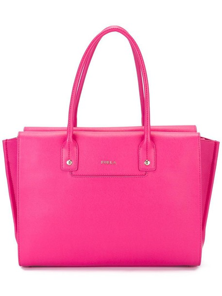 Furla women purple pink bag