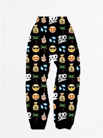 emoji pants 100 smiley