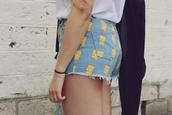 fringe and frange,shorts