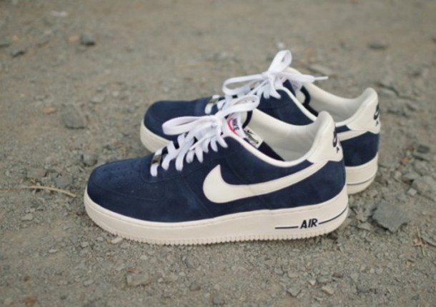 nike shoes air force blue. shoes nike air force 1 beautiful sneakers blazer vintae blue