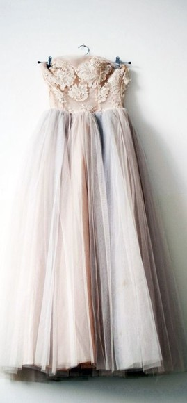 tulle tulle dress vintage vintage dress light pink dress pink dress dress