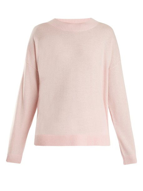 FRAME sweater wool light pink light pink