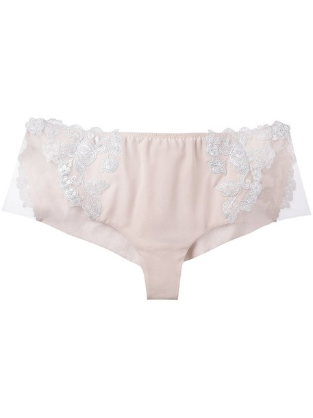 LA PERLA purple pink underwear