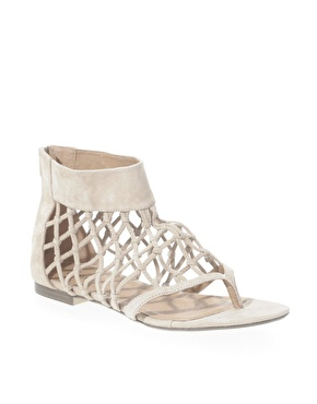 Oasis net gladiator sandals at asos
