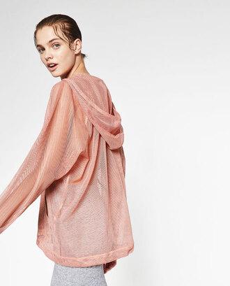jacket mesh mesh top zara ballet