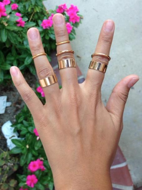 jewels gold ring gold ring gold midi ring gold midi rings above the knuckle ring gold mid finger rings knuckle ring knuckle ring knuckle ring
