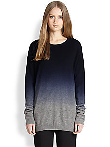 Vince - Wool & Cashmere Ombré Sweater - Saks Fifth Avenue Mobile on Wanelo