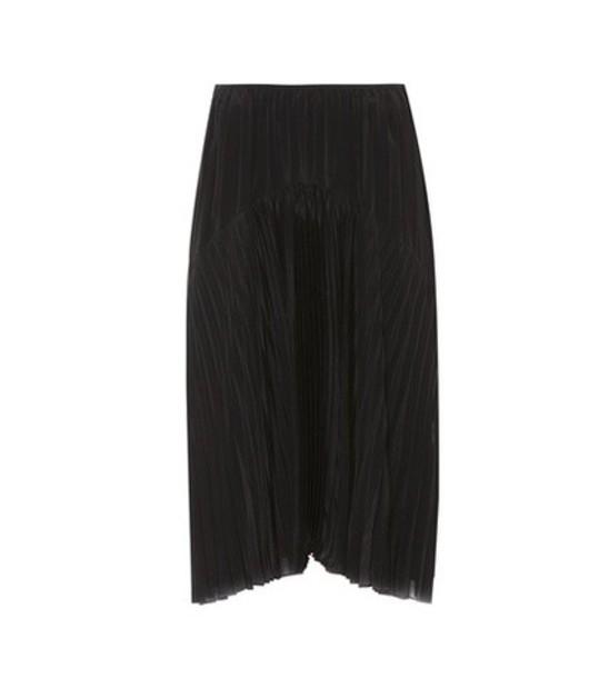 Vince skirt midi skirt pleated midi black